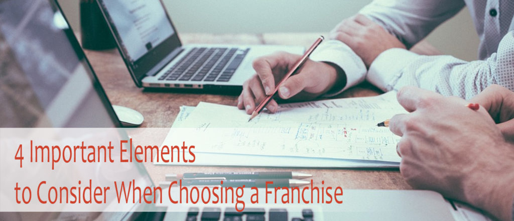 The Four Important Elements You Need to Consider When Choosing a Franchise