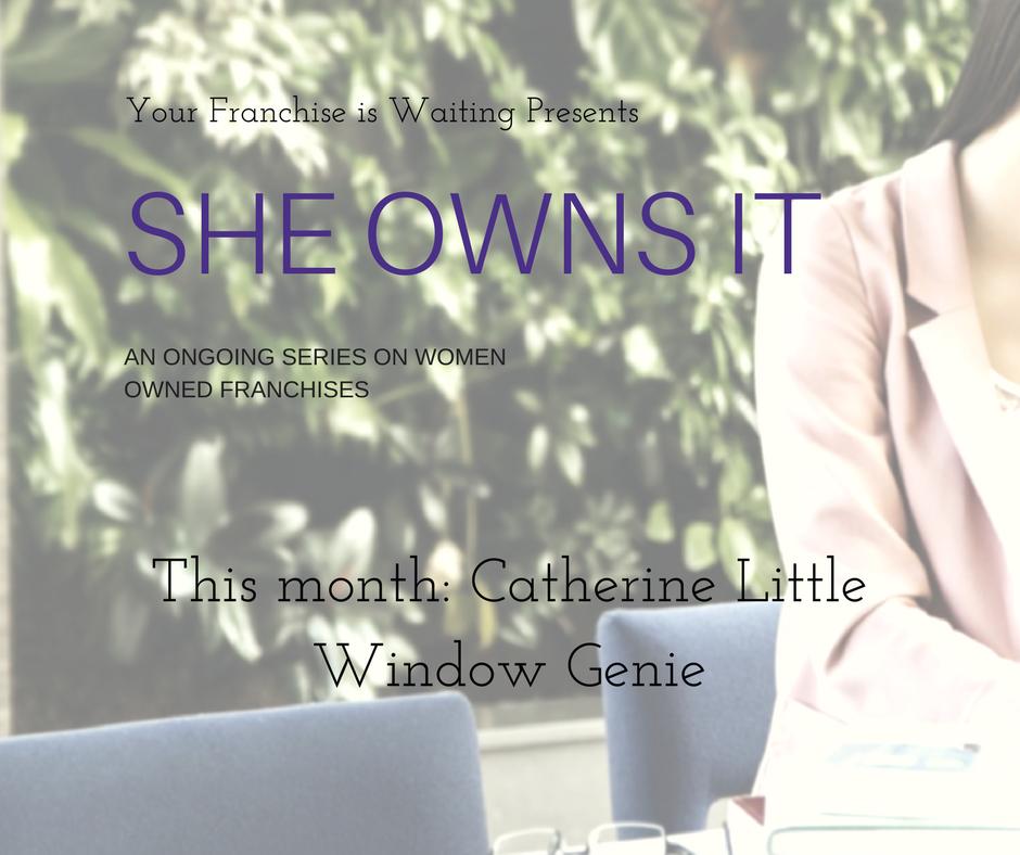 She Owns It Window Genie