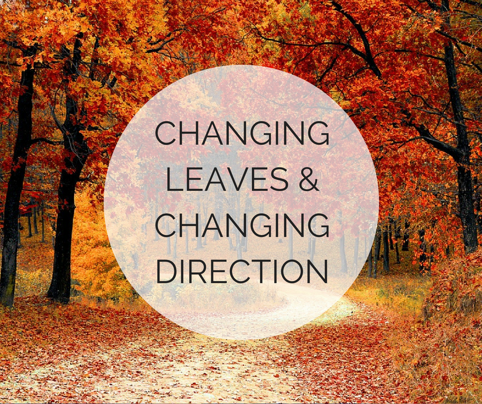 Changing Leaves and Changing Directions