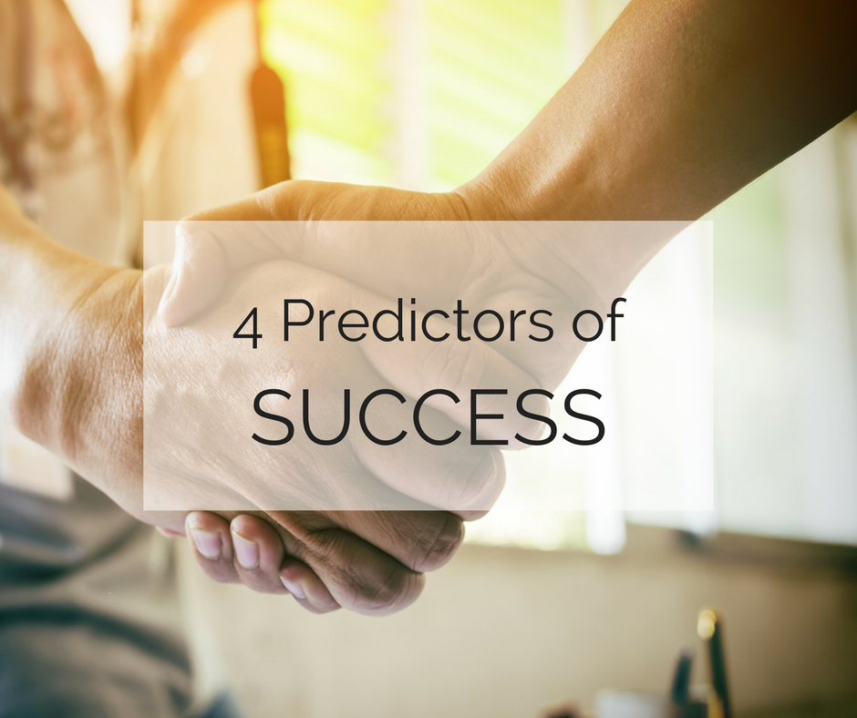 4 Predictors of Success